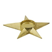 Golden Candleholder Shooting Star L